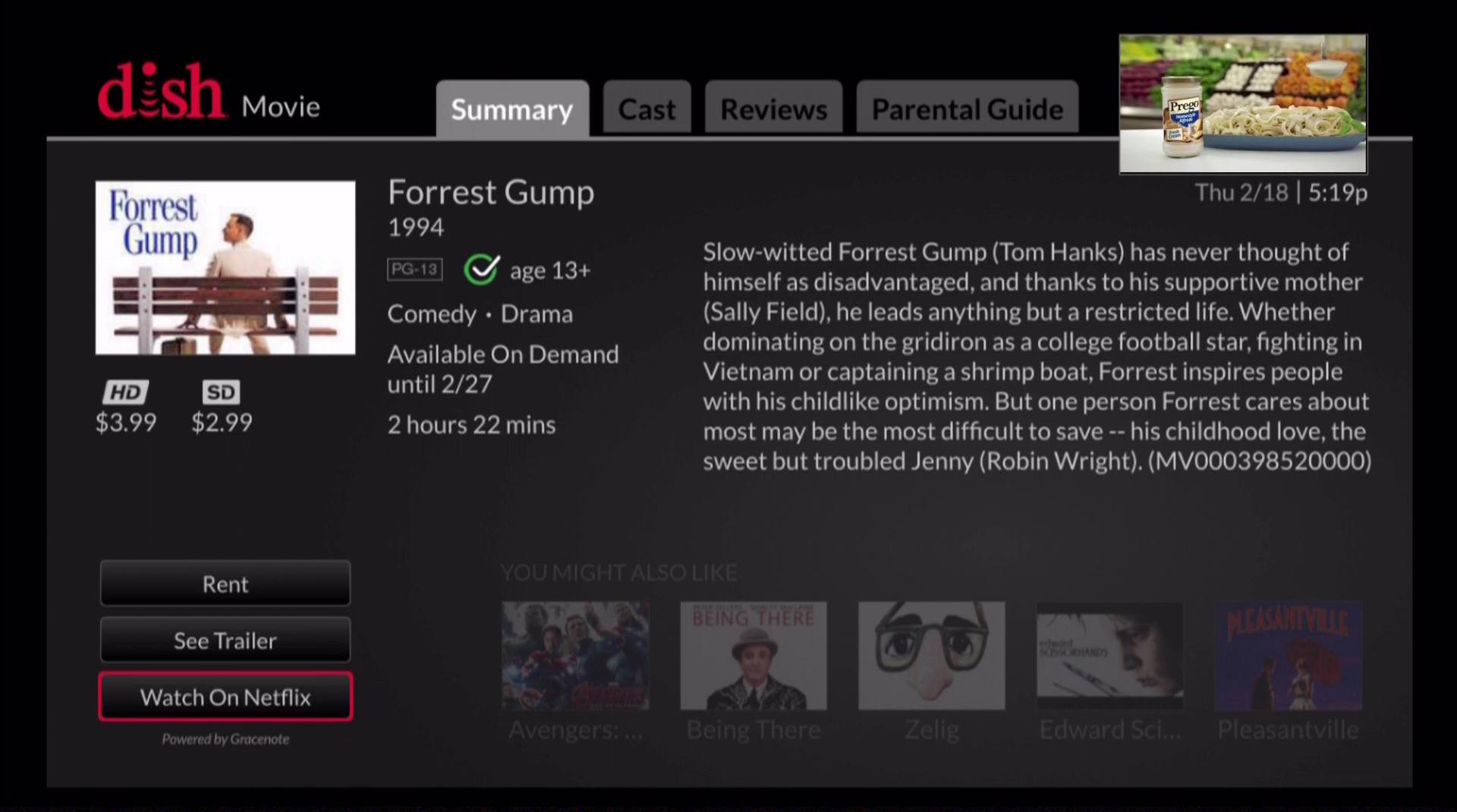 Forrest Gump Netflix - THE DIG