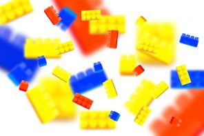Plastic toy blocks. background, lego
